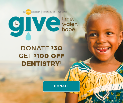 Donate $30, Get $100 Off Dentistry - MacDonald Ranch Modern Dentistry